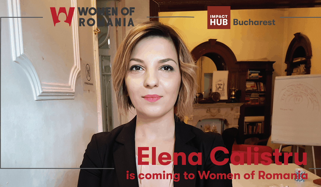 Elena Calistru is coming to Women of Romania