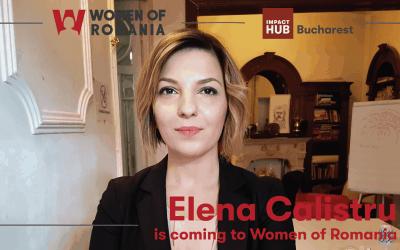 Elena Calistru is coming to Women of Romania