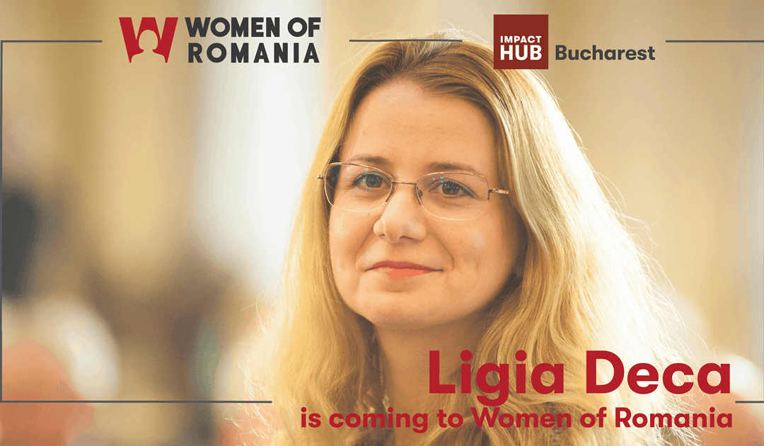 Ligia Deca is coming to Women of Romania