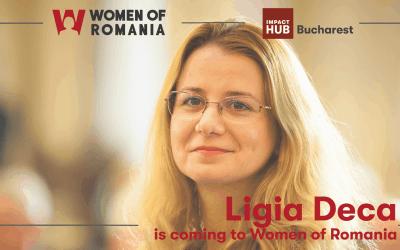 Ligia Deca is coming to Women of Romania