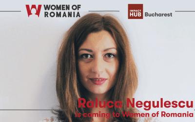 Raluca Negulescu Balaci is coming to Women of Romania