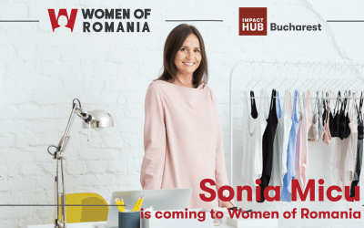 Sonia Micu is coming to Women of Romania