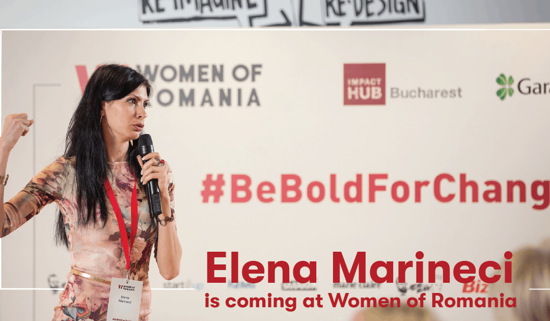 Elena Marineci is coming at Women of Romania